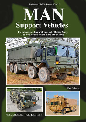 MAN Support Vehicles The most modern Trucks of the British Army - 1