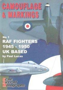 C&M No.1 RAF Fighters 1945-1950 UK BASED