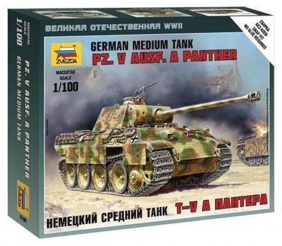 Pz.V Ausf. A Panther 1:100