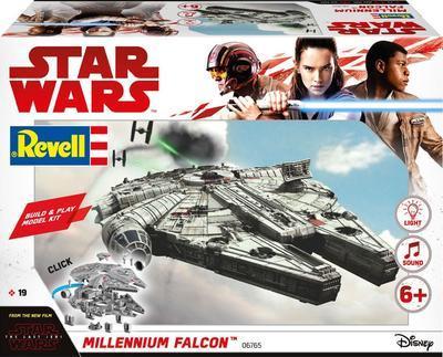 Millenium Falcon - Build & Play, zacvakávací model Star Wars se světelnými a zvukovými ef. - 1