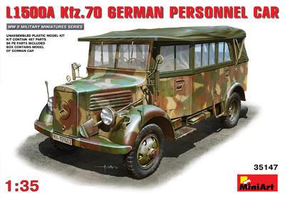 L1500A Kfz.70 German Personnel Car