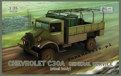 Chevrolet C30A General Service (steel body)