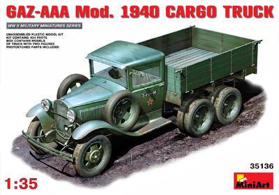 Gaz-AAA Mod. 1940 Cargo Truck