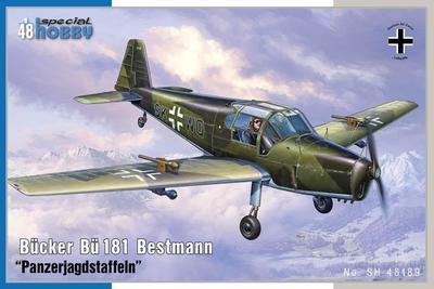 "Bucker BU 181 bestmann ""Pancerjagdstffeln"" - 1"