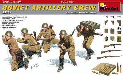 Soviet Artilery Crew WWII