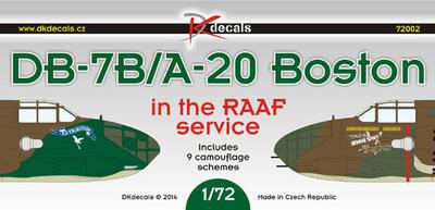 DB-7B/A-20 Boston in RAAF Service - 1