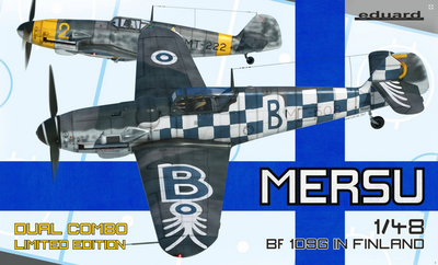 Mersu / BF 109G In Finland  - Dual Combo Limited Edition