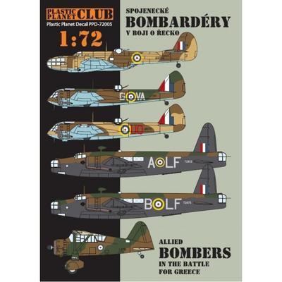 Spojenecké bombardéry v boji o Řecko 1:72