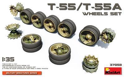 T-55/T55A Wheels Set