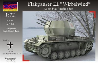 "Flakpanzer III ""Wirbelwind"" - 1"