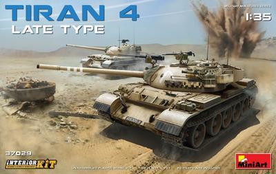Tiran 4,  Late Type, with Interior Kit - 1