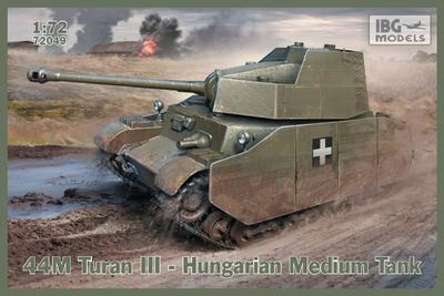44M Turan III – Hungarian Medium Tank
