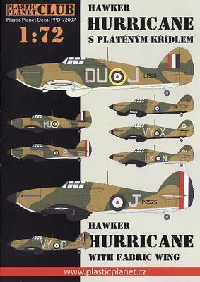 Hawker Hurricane s plátěným křídlem - 1