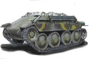 Bergepanzer 38(t) Hetzer early production
