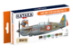Easrly WW2 French Air Force Paint Set, sada barev - 1/2