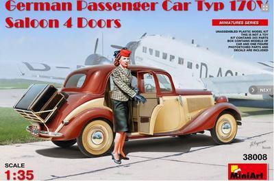 German Passenger Car typ 170V Saloon  4Doors