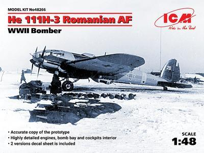He 111H-3 Romanian AF, WWII Bomber - 1