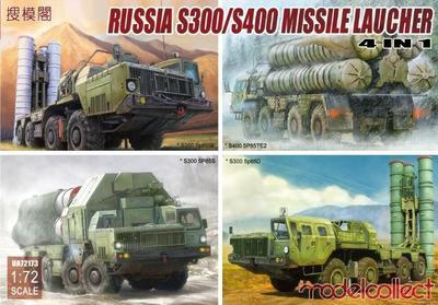 Russia S300/S400 Missile Launcher 4 in 1