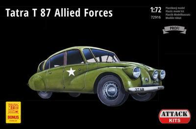 Tatra T87 Allied Forces