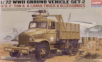 US 2.5t 6x6 Cargo Truck 1:72