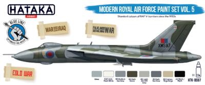 Modern Royal Air Force Paint Set VOL.5, sada barev - 1