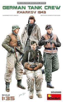 German Tank Crew Kharkov 1943 - 1