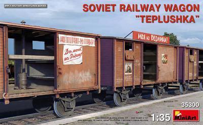 "Soviet Railway Wagon ""Teplushka""  - 1"