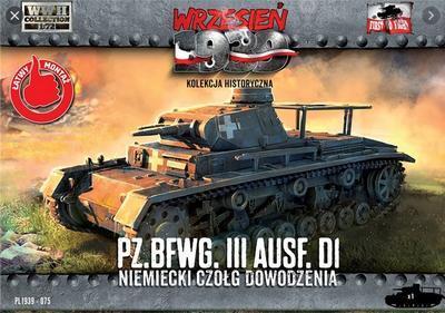 Pz.BfWg.III Ausf. D1 Command tank