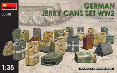 German Jerry Cans Set WWII - 1