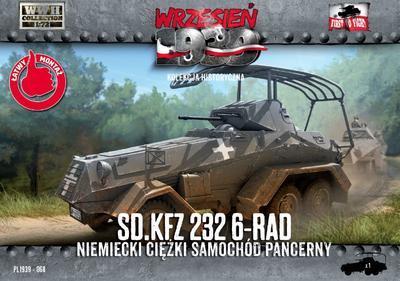 SD.KFZ. 232 6-RAD něměcký těžký pancéřovaný automobil