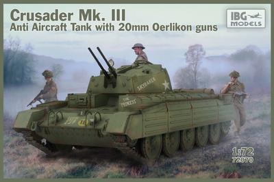 Crusader Anti Air Tank Mk. III with Oerlikon Guns
