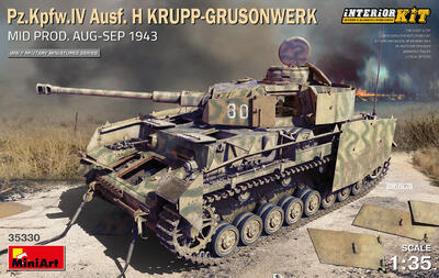 Pz.Kpfw.IV Ausf. H KRUPP-GRUSONWERK. MID PROD. AUG-SEP 1943. INTERIOR KIT - 1