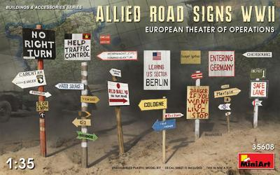 Allied Road Signs WWII - 1