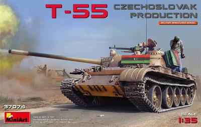 T-55 Czechoslovak Production  - 1