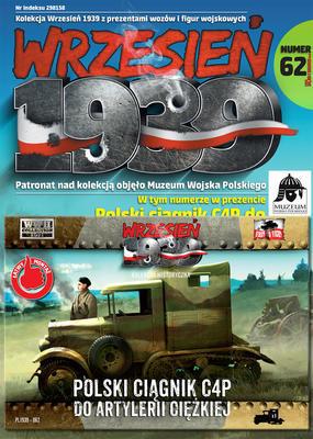 Polski ciągnik C4P do artylerii ciężkiej - 1