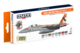 Israeli Air Force Paint Set (Modern Jets), set barev - 1/2