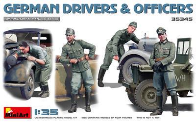 GERMAN DRIVERS & OFFICERS - 1