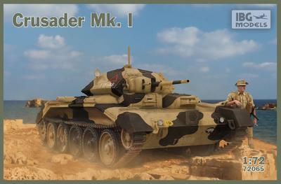 Crusader Mk. I - British Cruiser Tank Mk. VI