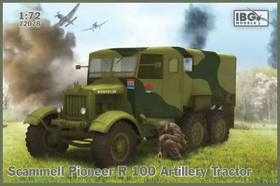Scammell Pioneer R 100 Artillery Tractor