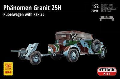 Phänomen Granit 25H Kubelwagen with PAK 36