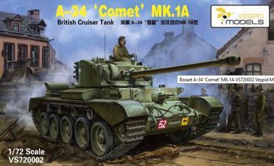 """A-34 """"Comet"""" MK.1A British Cruiser Tank"""