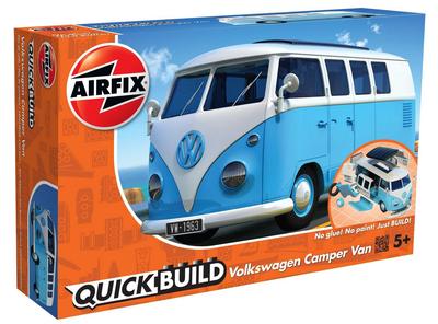 Quickbuild Volkswagen Camper Van - blue