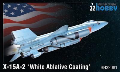 X-15A-2 'White Ablative Coating'