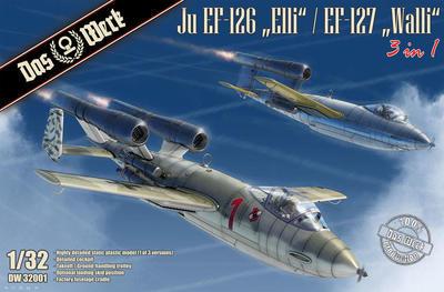 "Ju EF-126 ""Elli"" / EF-127 ""Walli"" (3 in 1) Entwicklungsflugzeug - Jägernotprogramm - 1"