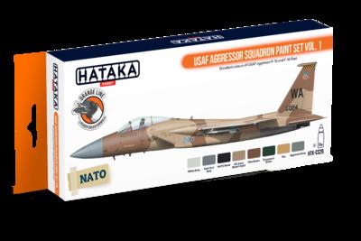 USAF Aggressor Squadron Paint Set Vol.1  - 1