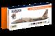 USAF Aggressor Squadron Paint Set Vol.1  - 1/2