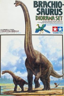 Brachiosaurus Diorama Set - 1