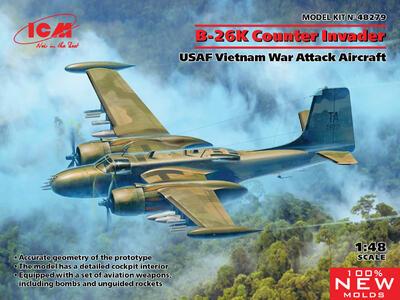 Douglas B-26K Counter Invader, USAF Vietnam War Attack Aircraft