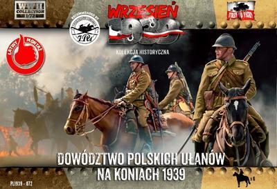Dowództwo Polskich Ułanów na koniach 1939, 6 fig.