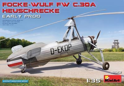 Focke -Wulf FW C.30A Heuschrecke Early prod.  - 1